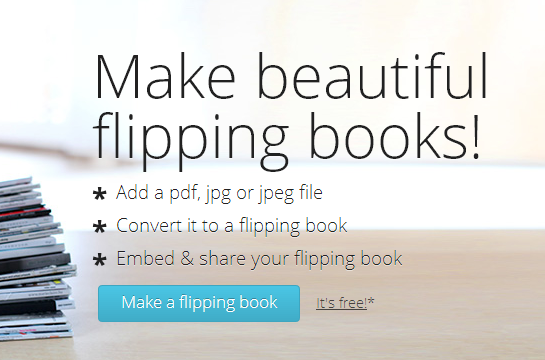 FlipSnack | PDF to Flash page flip – flipping book software